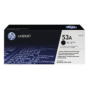 Cartouche toner HP 53A (Q7553A), noire