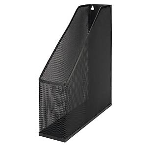 MESH BLACK METAL A4 MAGAZINE RACK