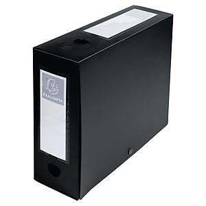 Exacompta filing box PP spine of 10cm black