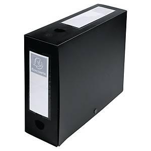 Boîte de classement Exacompta - PP - dos 10 cm - noire
