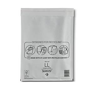Mail Lite White Bubble Lined Envelopes LL 230 X 330mm White - Box of 50