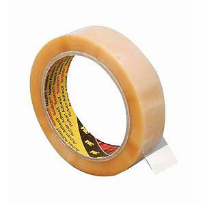 Scotch® 6890 PVC tape, transparant, 25 mm x 66 m, per rol tape