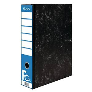 Bantex Cardboard Box File Black