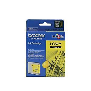 BROTHER LC-57Y ORIGINAL INKJET CARTRIDGE - YELLOW