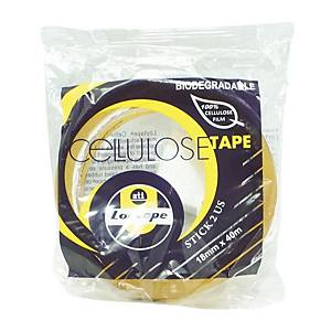 Loytape Clear Tape 18mm X 40m