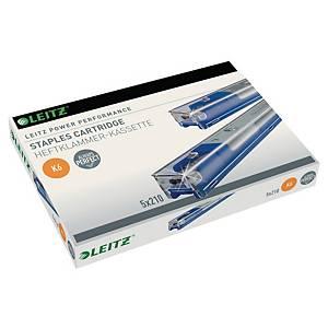 Cartouche d'agrafes Leitz Power Performance K6, pour agrafeuse Leitz 5551