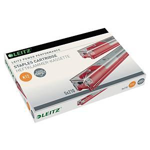 Cartouche d'agrafes Leitz Power Performance K12, pour agrafeuse Leitz 5551