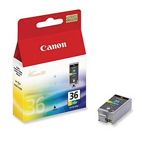 Canon CLI-36 mustesuihkupatruuna 3-väri
