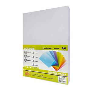SB กระดาษสีถ่ายเอกสาร NO.11 A4 80 แกรม ม่วง 1 รีม บรรจุ 500 แผ่น