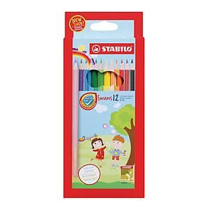 Stabilo Colour Pencil - 12 Pieces