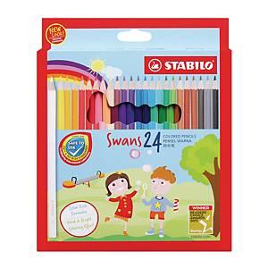 Stabilo Colour Pencil - 24 Pieces