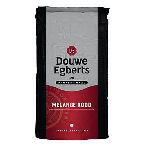 Café Douwe Egberts Mélange Rouge, le paquet de 500 g