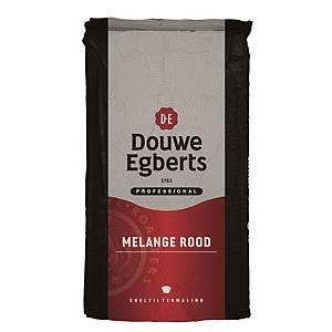 Café Douwe Egberts Mélange Rouge, le paquet de 250 g