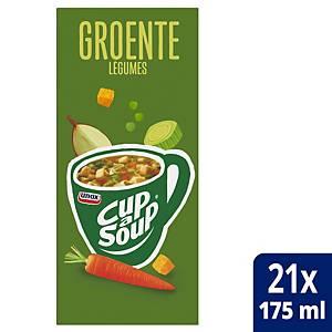 Soupe de légumes Cup-a-Soup, la boîte de 21 sachets