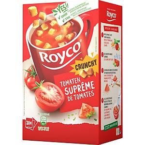 Royco Crunchy Tomatensuprême, doos van 20 zakjes