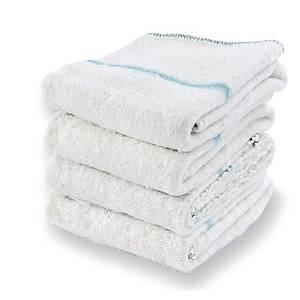 Floor cloth 60x60cmwhite - pack of 10