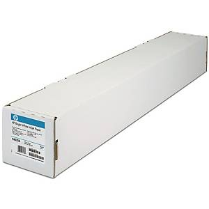 Plotterpapir HP C6035A Bright White, 90 g, 24 tommer, 610 mm x 45 m