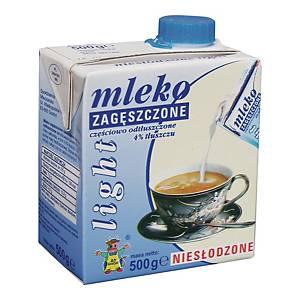 Mleko zagęszczone GOSTYŃ 4% niesłodzone light, 500 g