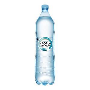 Woda mineralna KROPLA BESKIDU niegazowana, zgrzewka 6 butelek x 1,5 l