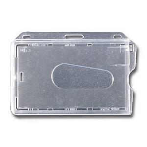 Porte badge avec pince krth-s1 - paquet de 5