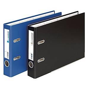 문화 레버아치 바인더 B843-7 A4 50mm 파랑