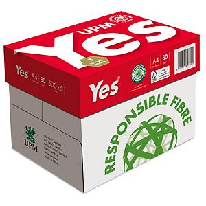 Yes Silver Multifunction A4 Paper 80gsm - 1 Ream of 500 Sheets