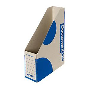 PK25 EMBA DOCUMENT BOX A4 330X230X75 BLU