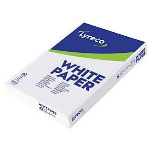 Papier blanc A3 Lyreco - 75 g - ramette 500 feuilles