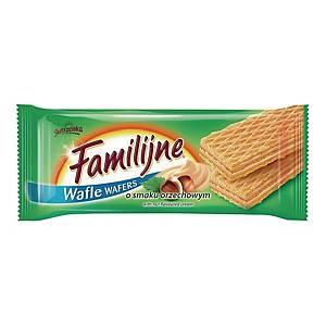 Wafle FAMILIJNE orzechowe, 180 g