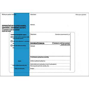 BX50 KRPA ENV B6 125X176 BLU STRIP WH