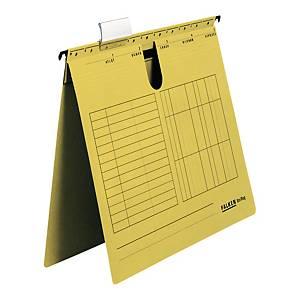 Skoroszyt zawieszkowy FALKEN A4 żółty opakowanie 25 sztuk