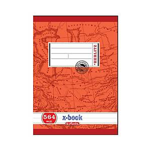 HERLITZ 564 SCHOOL NOTEBK A5 60SHT RULED
