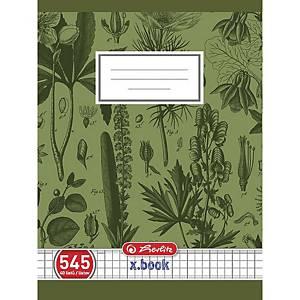 Herlitz iskolai füzet, A5, négyzethálós, 40 lap