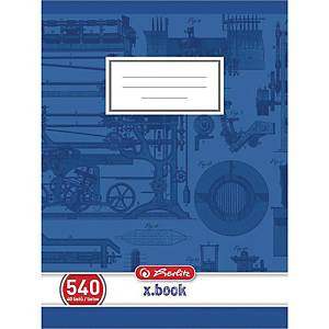 HERLITZ 540 SCHOOL NOTEBK A5 40SHT PLAIN
