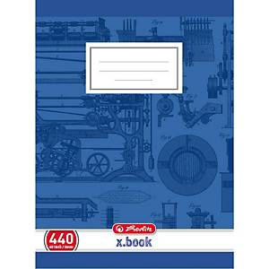 HERLITZ 440 SCHOOL NOTEBK A4 40SHT PLAIN