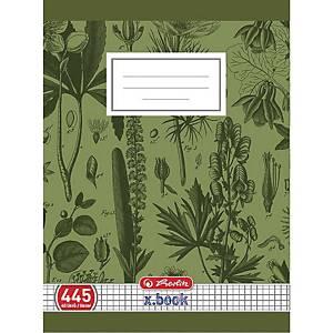 Zošit Herlitz A4, 445 školský, štvorčekový, 40 listov