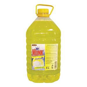 Mr. Monk mosogatószer, 5l, citrom