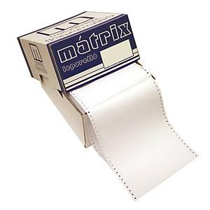 Papír tűs nyomtatókba, 54+52+54 g/m², 1 + 2 réteg, 240 mm x 12 , 600 ív/karton