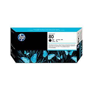 Printhead + Cleaner 80 HP C4820A, noir