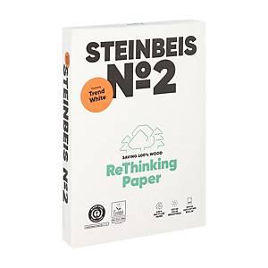 Steinbeis Trend White gerecycleerd A4 papier, 80 g, per doos van 5 x 500 vellen