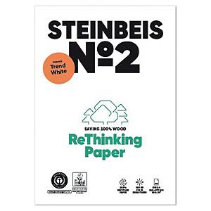 Steinbeis Trend White recycled paper A4 80g - 1 box = 5 reams of 500 sheets
