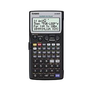 Calculadora programable Casio FX-5800P