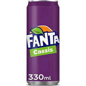 Fanta Cassis can 33cl - pack of 24