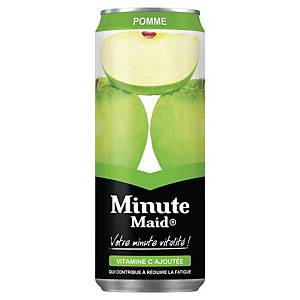 Minute Maid apple juice can 33cl - pack of 24
