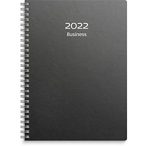 Kalender Burde 91 1040 Business kartong refill A5 svart