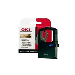 OKI Farbband Nylon schwarz 09002303 ML 180/182