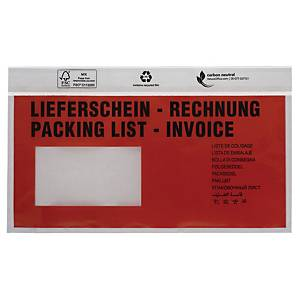 Dokumententaschen 1186, DIN lang, mit Aufdruck LS / RG, 250 Stück