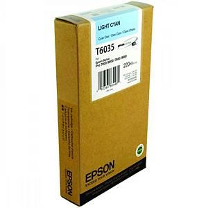 Epson T6035 Ink Cartridge Light Cyan