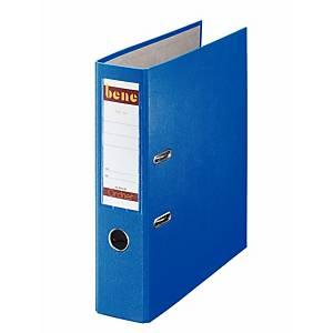 Bene emelőkaros iratrendező, kék, gerincszélesség 8 cm