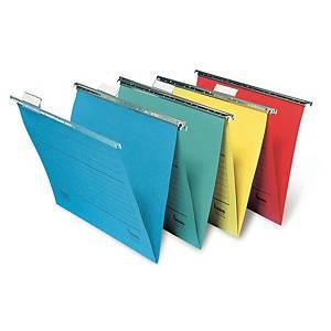 Závesné obaly typu  V  Bene Vetro-Mobil, 24× 31,5 cm, modrý, balenie 5 kusov